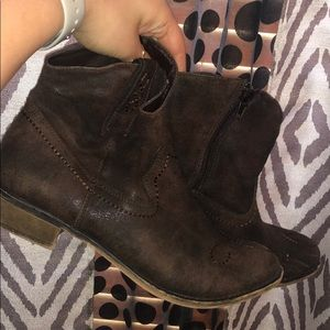 American Rag cowboy style ankle boots!